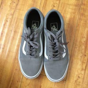 Frost Gray Old Skool Vans